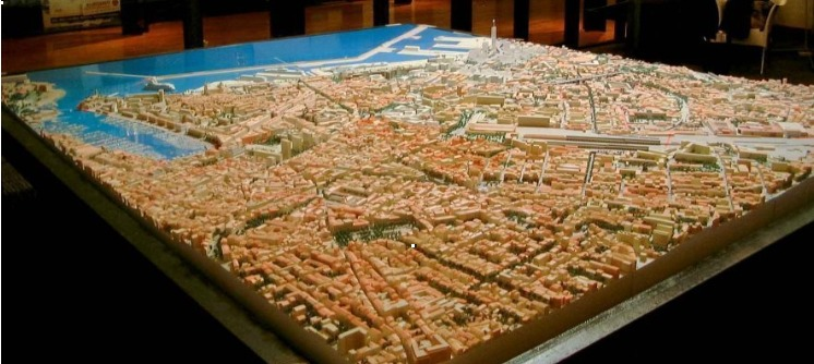Maquette 3D urbanisme au Maroc