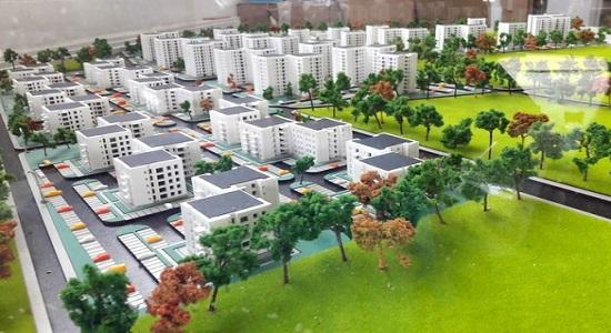 maquette promotion immobilière