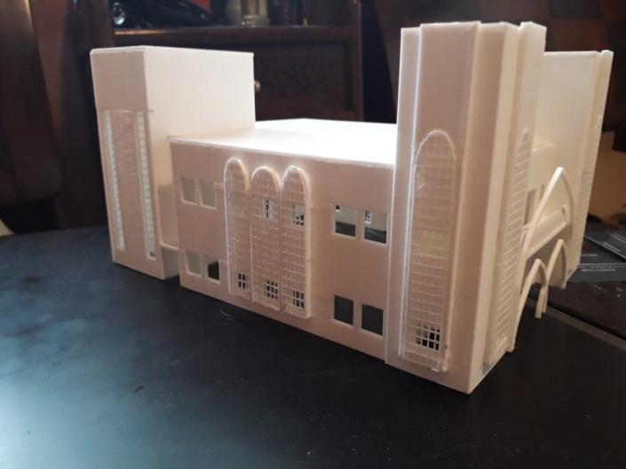 conception et impression 3d mosqué