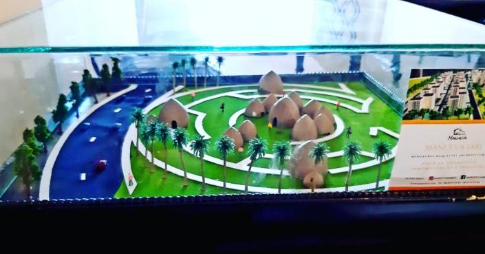 Maquette 3D au Manueva